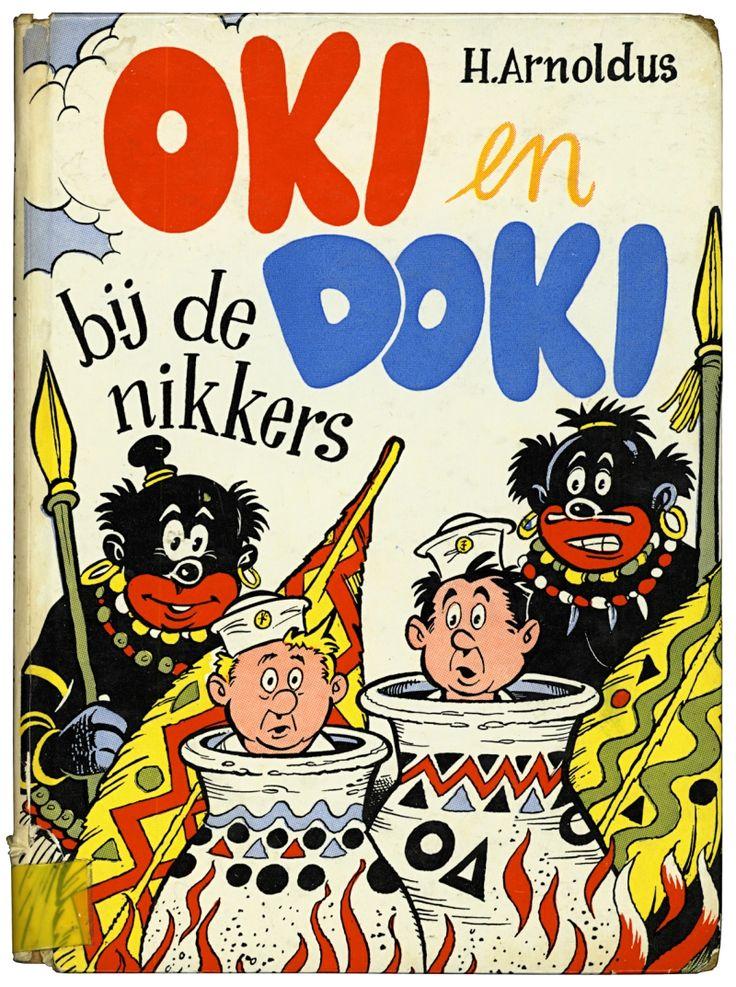 Oki en Doki bij de nikkers (Henri Arnoldus, 1957)