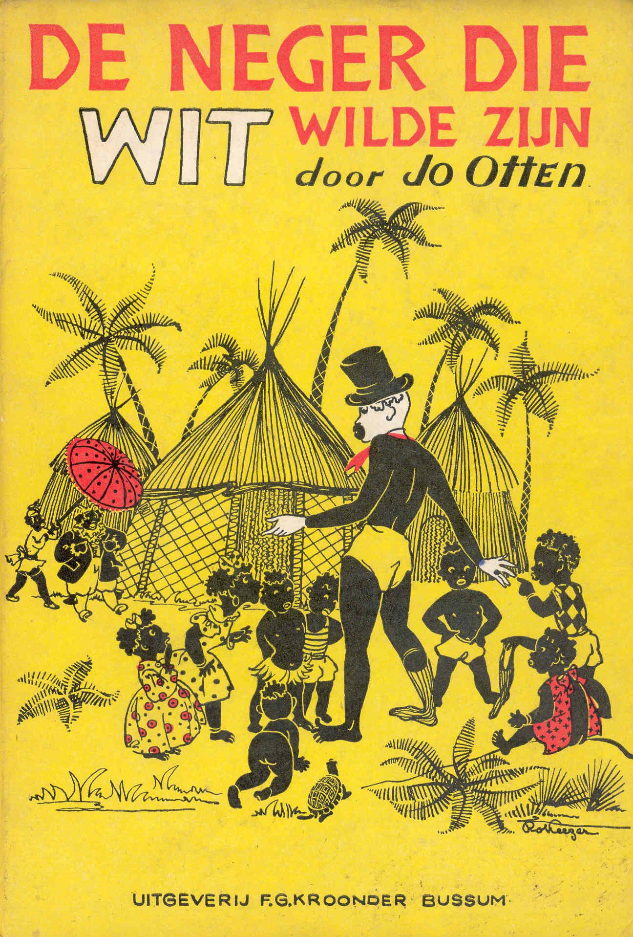 De neger die wit wilde zijn (Jo Otten, 1947)